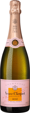 Champagne Veuve Clicquot Ponsardin Rosé Brut, Champagne AC, Geschenketui