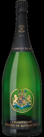 Champagne Barons de Rothschild Brut, Champagne AC, Magnum , Shopping Bag