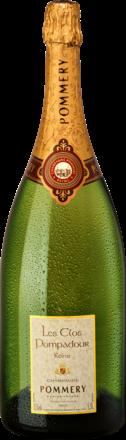 Les Clos Pompadour Brut, Champagne AC,  Magnum, Holzkiste 2003