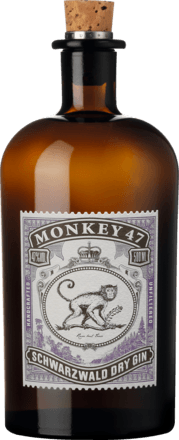 Monkey 47 Schwarzwald Dry Gin 47 % vol. 0,5 L