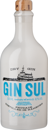 Gin Sul Hamburg Dry Gin 43 % vol. 0,5 L