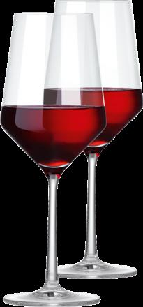 2er Set Pure Rotweinglas Zwiesel Glas