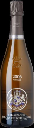 Champagne Barons de Rothschild Vintage Brut, Blanc de Blancs, Champagne AC 2006