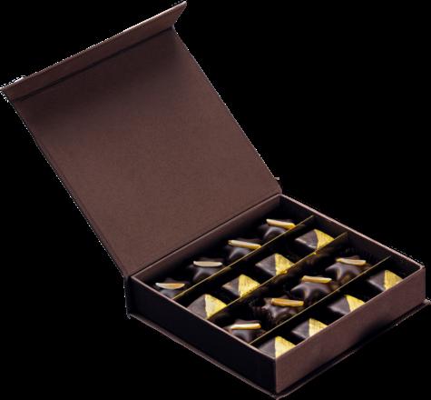 Feinste Rotspon-Marzipan Pralinés 200 g