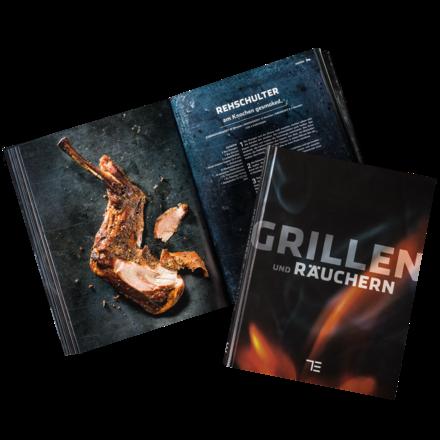 Teubner Buch Grillen und Räuchern im Leinen-Schuber
