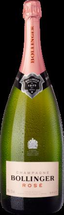 Champagne Bollinger Rosé Brut, Champagne AC, Magnum, Geschenketui