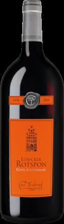 Lübecker Rotspon Cuvée Anniversaire Pays d'Oc IGP Magnum 2015
