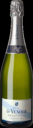 Champagne de Venoge Cordon Bleu Brut, Champagne AC, Geschenketui