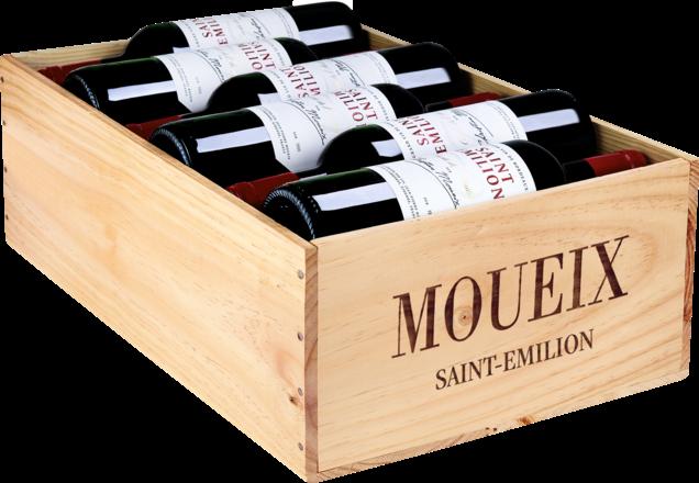 Moueix Saint-Emilion Cuvée de l'Amitié Saint-Emilion AOP, 12er Holzkiste 2016