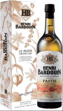 Henri Bardouin Le Pastis Grand Cru Pastis, 45% Vol., 0,7L