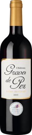 Château Graves de Pez Saint-Estèphe AOP 2015