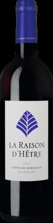 La Raison d'Hêtre Castillon Côtes de Bordeaux AOP 2016
