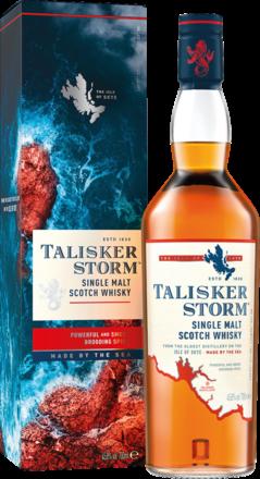 Talisker Storm Isle of Skye Single Malt Whisky Scotch, 0,7 L, 45,8% Vol.