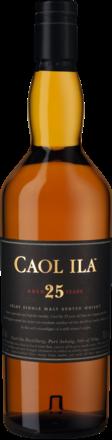 Caol Ila 25 Years Isle of Islay Single Malt Whisky Scotch, 0,7 L, 43% Vol.