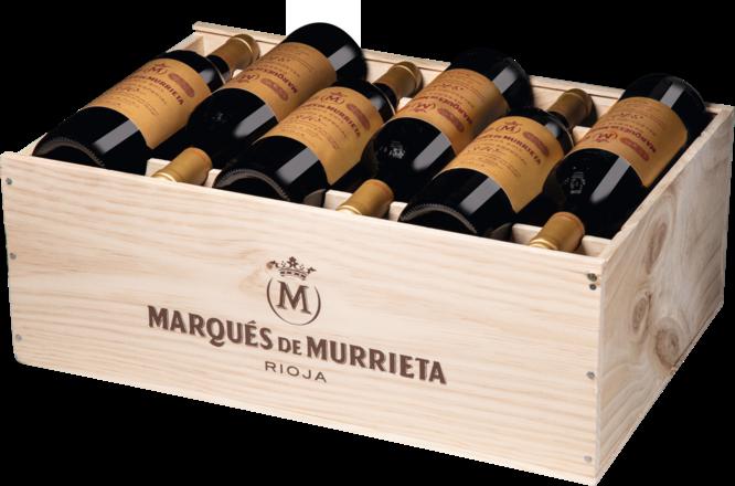 Murrieta Rioja Reserva Selección Especial Rioja DOCa, 12er Holzkiste 2015