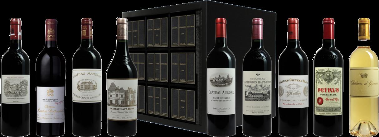 Duclot Kiste Collection Grands Vins de Bordeaux 2018