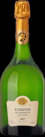 Champagne Taittinger Comtes de Champagne Brut, Blanc de Blancs, Champagne AC 2007