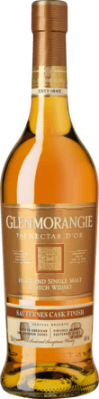 Glenmorangie Nectar d'Or Sauternes Cask Finish Highland Single Malt Whisky, 0,7 L, 46,0% Vol.