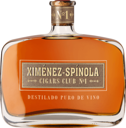 Cigars Club No.1 Brandy 0,7 L, 43,25 % Vol.
