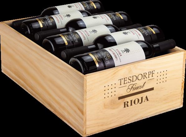 Tesdorpf Finest Rioja Gran Reserva Rioja DOCa, 12er Holzkiste 2012