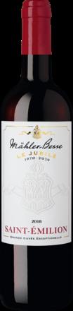 Le Jubilé Saint-Emilion Mähler-Besse Tesdorpf Saint-Emilion AOP 2018
