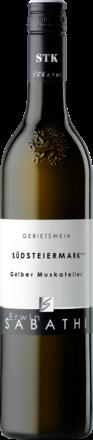 Gelber Muskateller Trocken, Südsteiermark DAC 2019