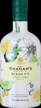 Graham's White Port Blend No 5 Douro DOC, 19,0 % Vol., 0,75 L