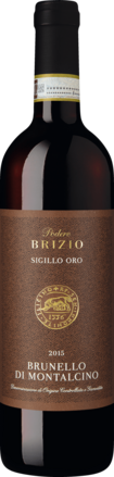 Podere Brizio Brunello Sigillo Oro Brunello di Montalcino DOCG 2015
