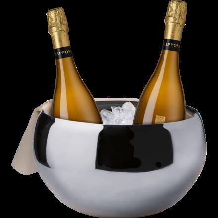 Philipponnat Paket + Kühler 2 Fl.u. Champagnerkühler Nizza