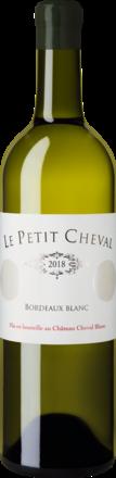 Le Petit Cheval Bordeaux Blanc Bordeaux AOP 2018