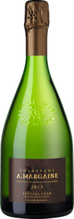 Champagne Margaine Special Club Brut, Blanc de Blancs, Champagne AC 2013