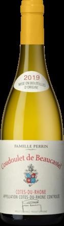 Coudoulet de Beaucastel blanc Côtes du Rhône AOP 2019