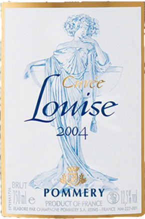 Champagne Cuvée Louise Pommery Brut, Champagne AC 2004
