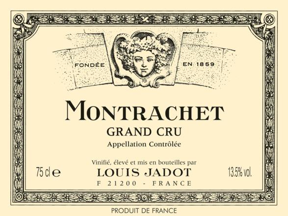 Louis Jadot Montrachet Montrachet Grand Cru AOP 2018