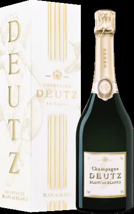 Champagne Deutz Blanc de Blancs Brut, Blanc de Blancs, Champagne AC, Geschenketui 2015