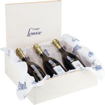 Champagne Cuvée Louise Pommery Trilogie