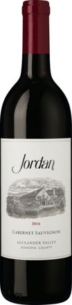 Jordan Cabernet Sauvignon Alexander Valley 2016