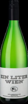 Ein Liter Wien Gemischter Satz Landwein aus Österreich 2020