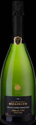 Champagne Bollinger Vieilles Vignes Francaises Brut, Blanc de Noir, Champagne AC,  Holzkiste 2009