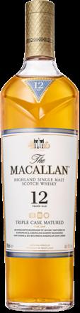 Macallan 12 Years Triple Cask Single Malt Whisky, 0,7 L, 40% Vol.