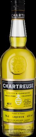 Chartreuse Jaune Liqueur aux Herbes Frankreich, 0,7 L, 43% Vol.