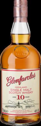 Glenfarclas 10 Years Single Malt Scotch Whisky Speyside, Schottland, 0,7 L, 40% Vol., in Etui