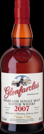 Glenfarclas Vintage 2007 Oloroso Sherry Casks Premium Edition, Highland,  0,7 L, 46% Vol.
