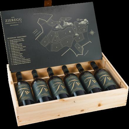 Parzellenkollektion Ried Zieregg Holzschatulle, 6 Flaschen 2018