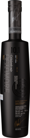Octomore 10.1 Single Malt Whisky Islay, Schottland Großbritannien, 0,7 L, 59,8% Vol