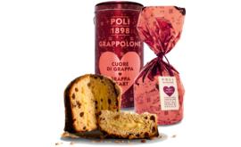 Panettone mit Rosinen und Moscato-Grappa-Creme Geschenkdose, 950 g