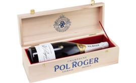 Champagne Pol Roger Réserve Brut, Champagne AC, Magnum, in Einzelholzkiste