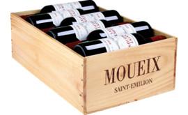 Moueix Saint-Emilion Cuvée de l'Amitié Saint-Emilion AOP, 12er Holzkiste 2018