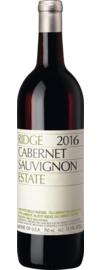 Ridge Estate Cabernet Sauvignon Santa Cruz Mountains 2016