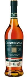 Glenmorangie 14 Years Old Port Cask Finish Quinta Ruban Port, Highland, 0,7 L, 46% Vol.